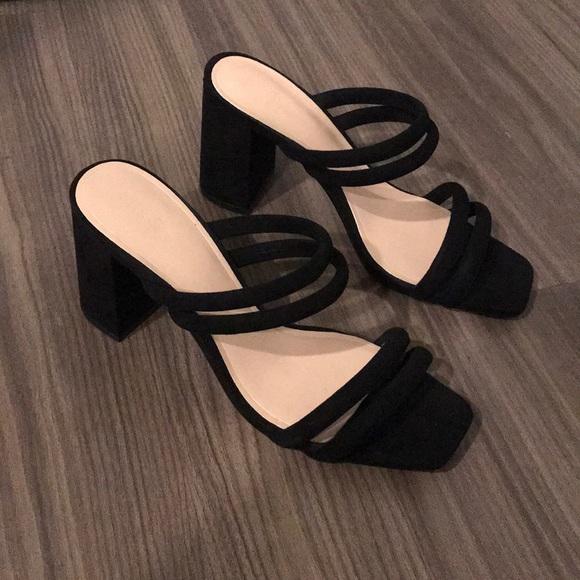 d2a989b24b7e Suede Mule Sandals. M 5b2b15030cb5aa367bd54131